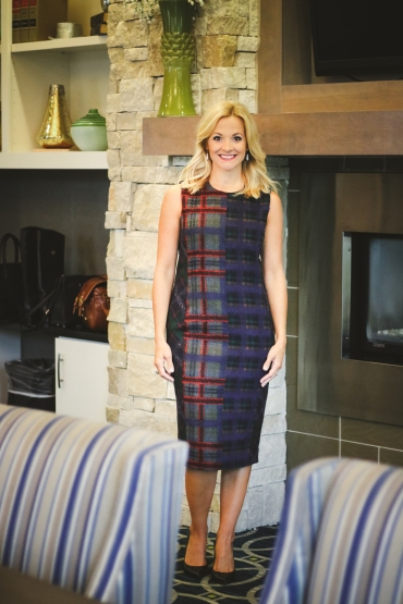 Doncaster wool dress