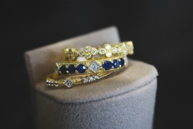 Jude Frances stackable rings