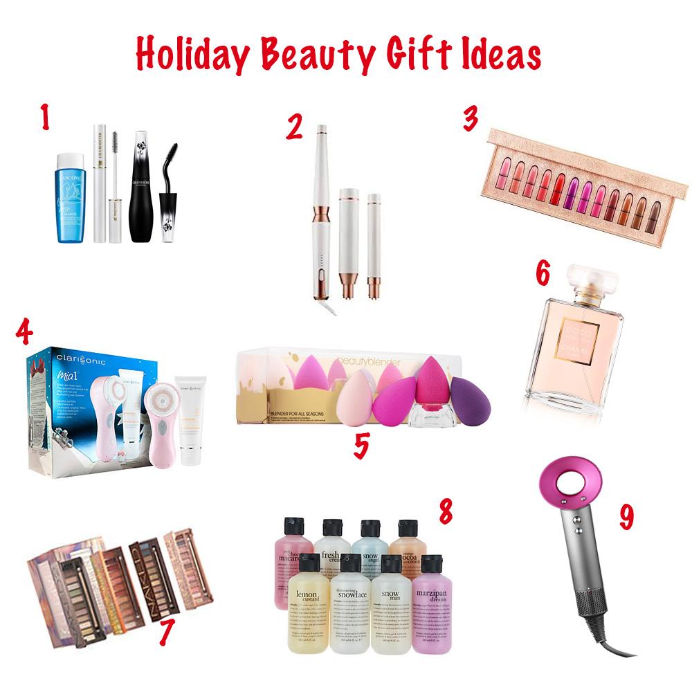 Holiday beauty board 1