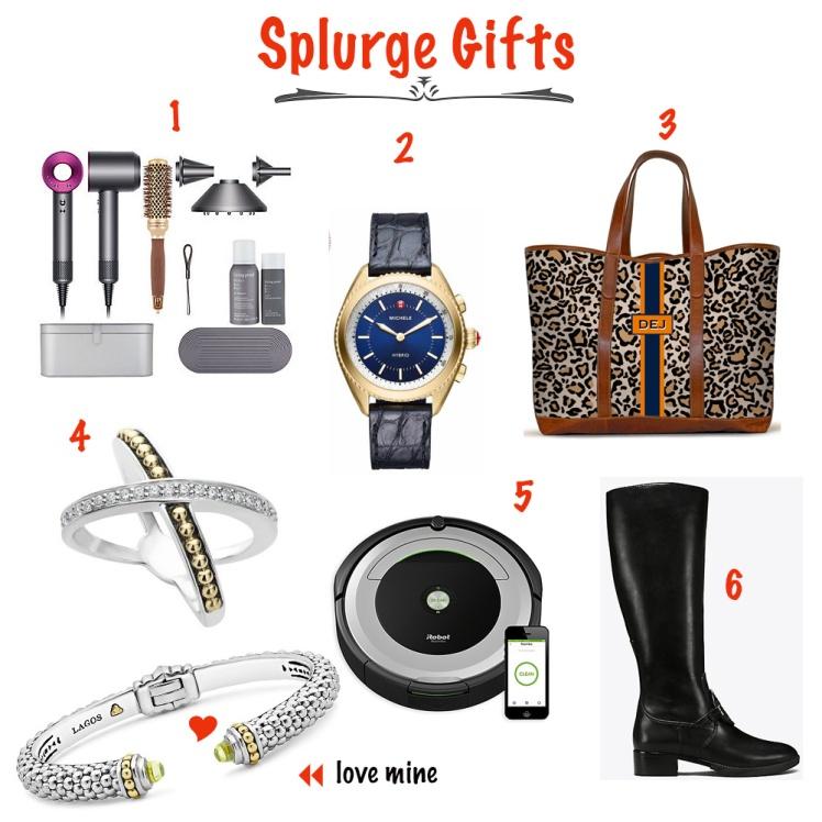 Splurge gifts